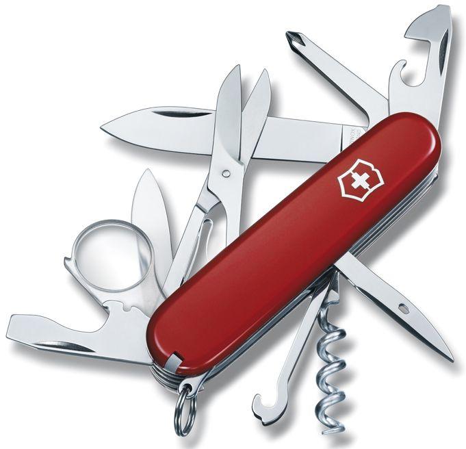 Nůž Victorinox Explorer červený