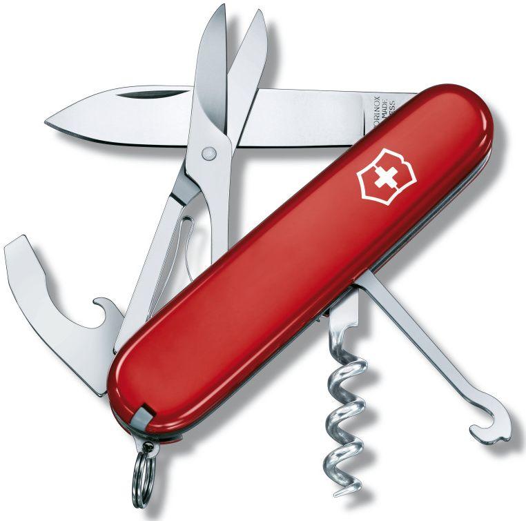 Nůž Victorinox Compact červený