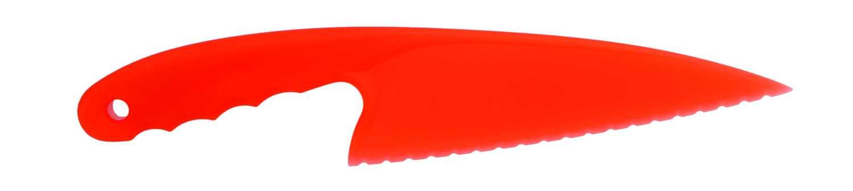Klou červený nůž na moučník