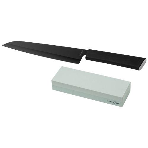 Kuchařský nůž a brousek Element