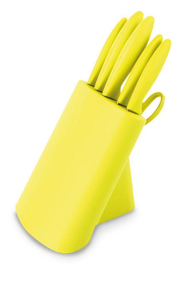 Set nožů světle zelený