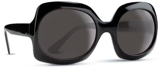 Sluneční brýle trendové - černé