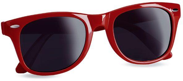 Sluneční brýle s UV ochranou červené
