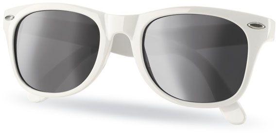 Sluneční brýle s UV ochranou bílé