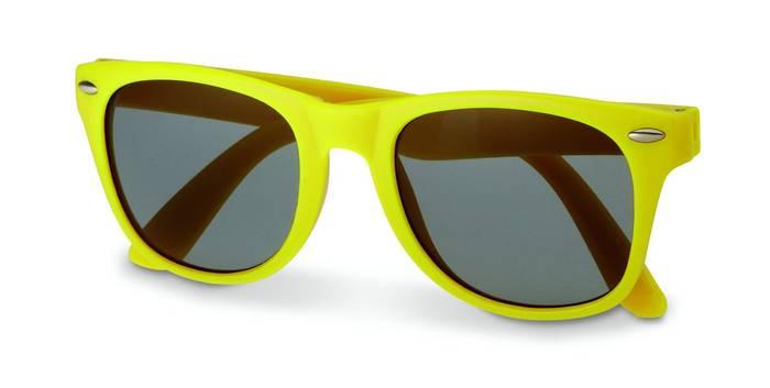 Sluneční brýle s UV ochranou žluté