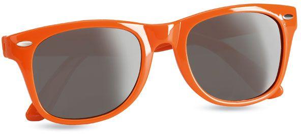 Sluneční brýle s UV ochranou oranžové