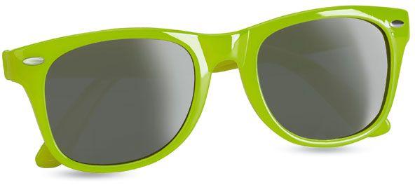 Sluneční brýle s UV ochranou limetkové