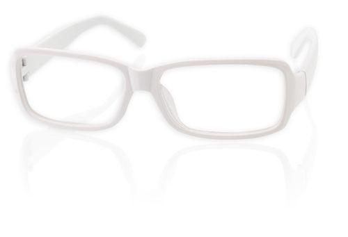 Obroučky brýlí bílé