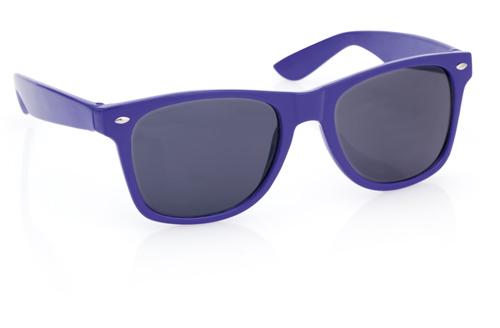 Xaloc modré sluneční brýle s potiskem