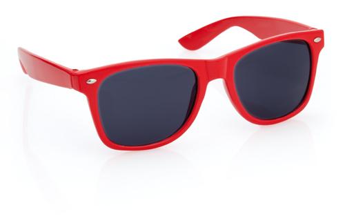 Xaloc červené sluneční brýle