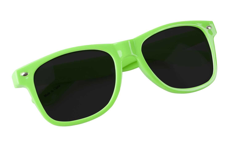 Xaloc zelené sluneční brýle s potiskem