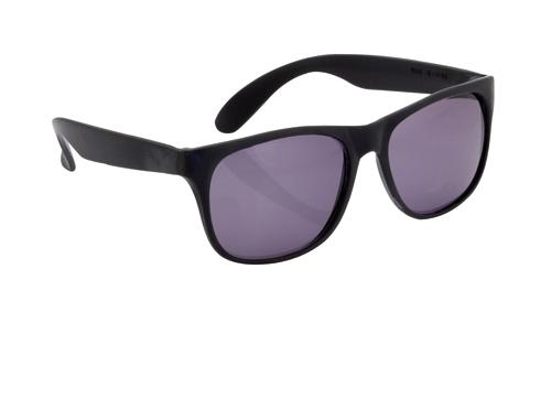Malter černé sluneční brýle s potiskem