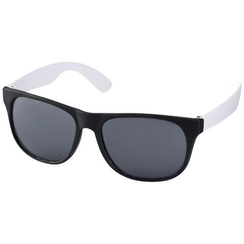 Sluneční brýle Retro bílé