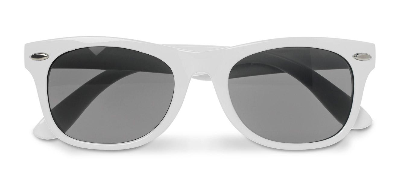 Sluneční brýle pro děti Babesun bílé