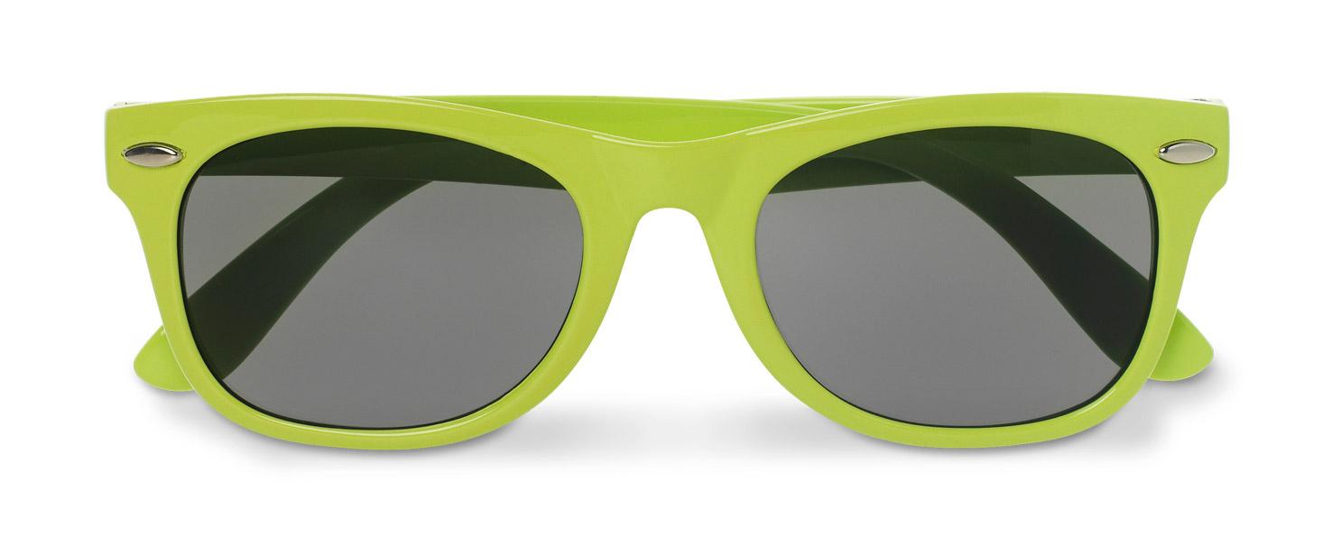 Sluneční brýle pro děti Babesun limetkové