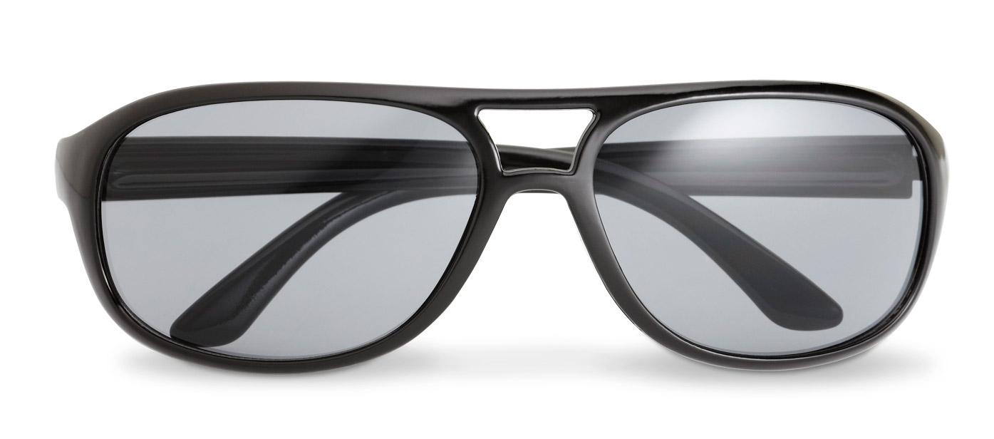 Aviator sluneční brýle Avi černé