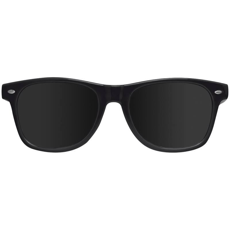Vtipné sluneční brýle černé