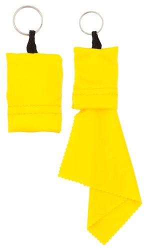 Yindax žlutý čisticí hadřík s potiskem