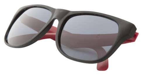 Glaze červené sluneční brýle