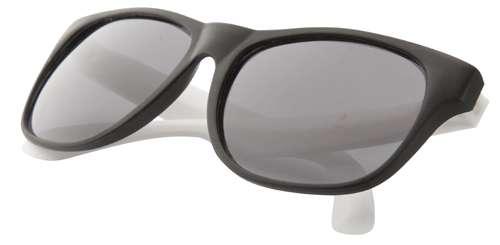 Glaze bílé sluneční brýle