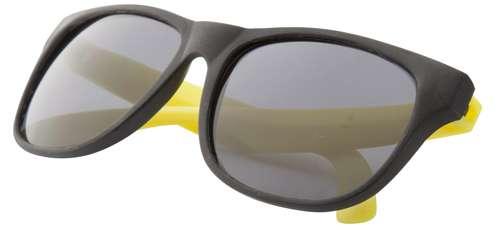 Glaze žluté sluneční brýle