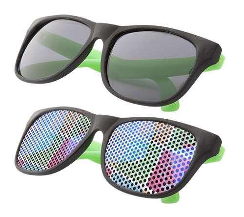 Glaze zelené sluneční brýle