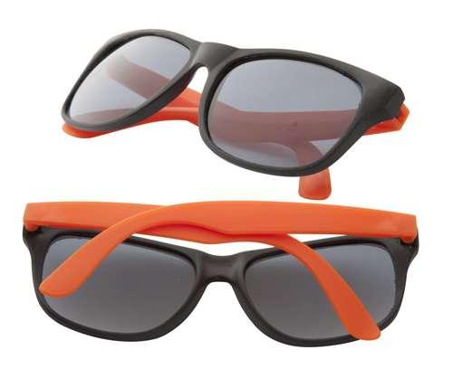 Glaze oranžové sluneční brýle