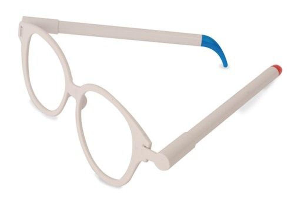 Party brýle bílé