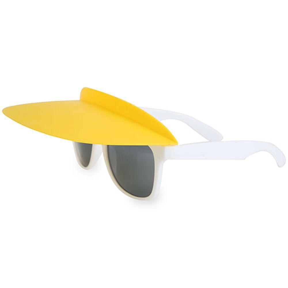 Kšilt na brýle žlutý