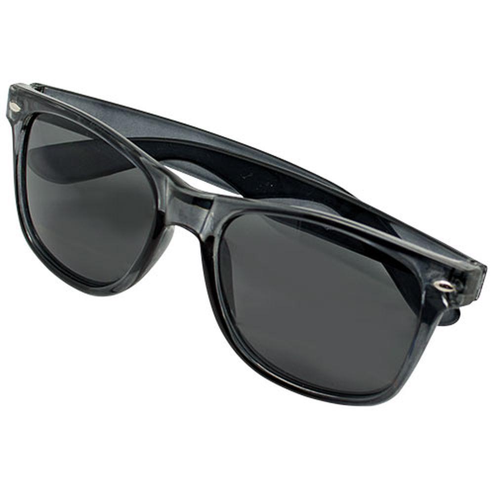 Transparentní sluneční brýle černé