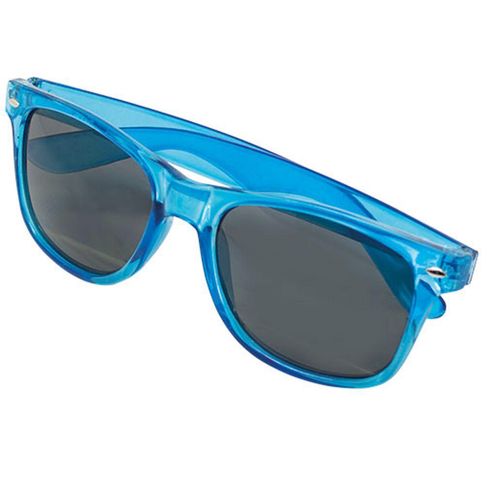 Transparentní sluneční brýle modré