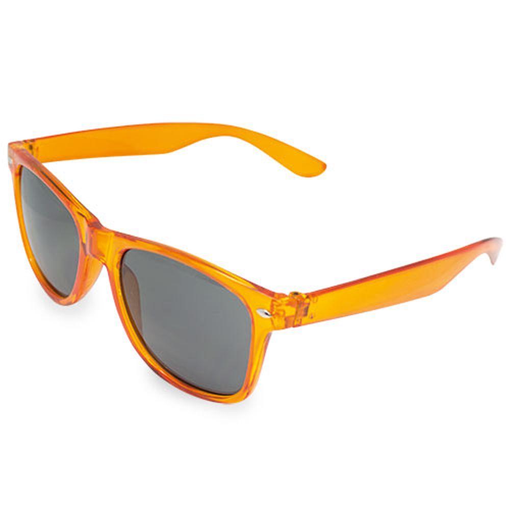 Transparentní sluneční brýle oranžové
