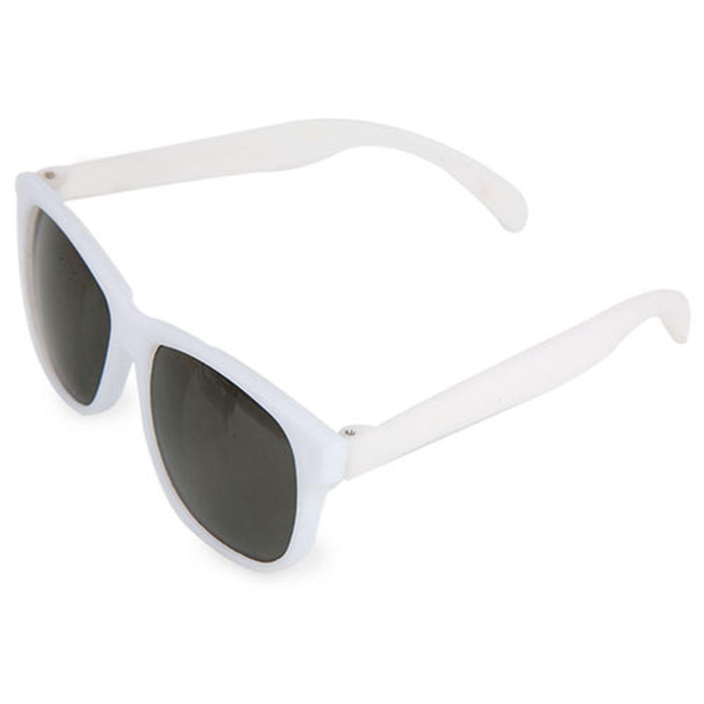 Sluneční brýle matné bílé