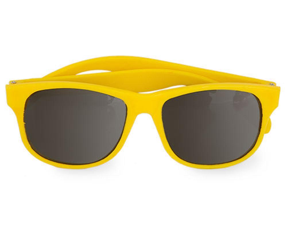 Sluneční brýle matné žluté