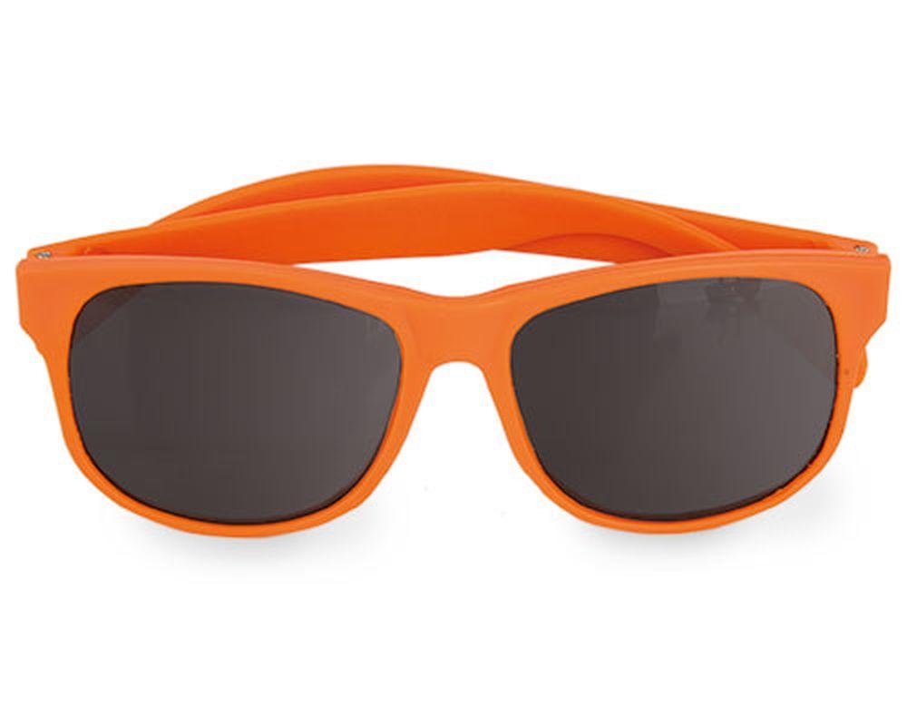 Sluneční brýle matné oranžové