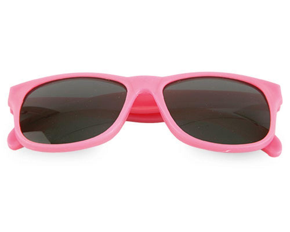 Sluneční brýle matné růžové