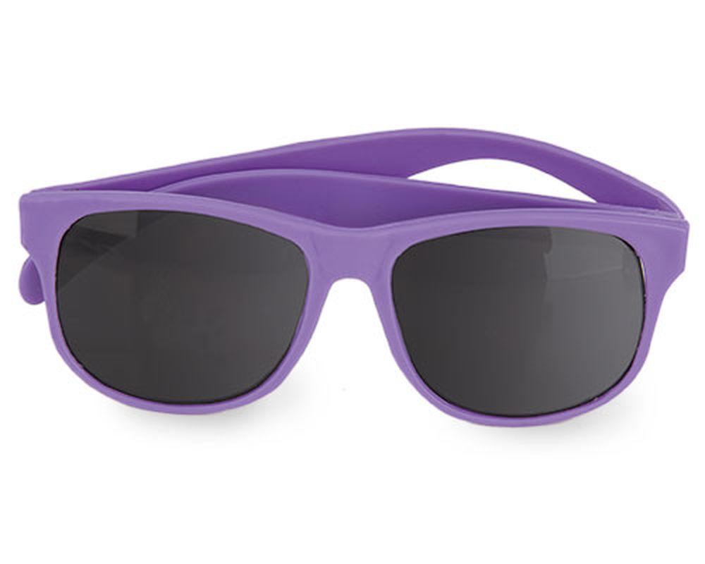 Sluneční brýle matné fialové