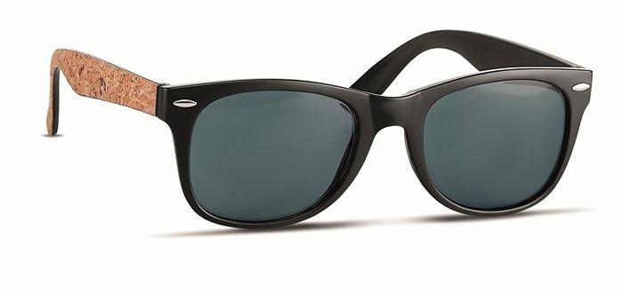 Sluneční brýle s korkem