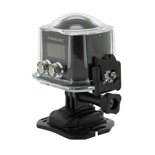 Sportovní kamera 4K 360º černá