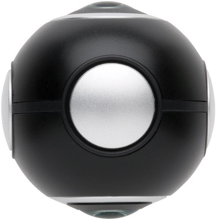 360 kamera se dvěma objektivy