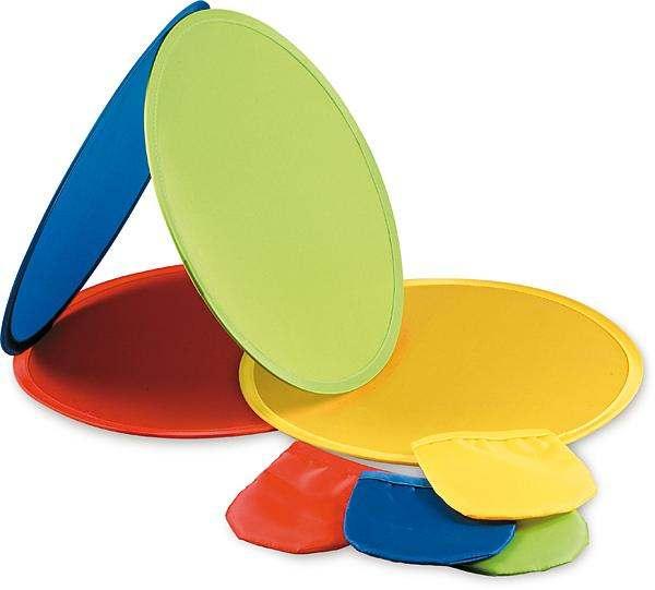 Skládací modré frisbee