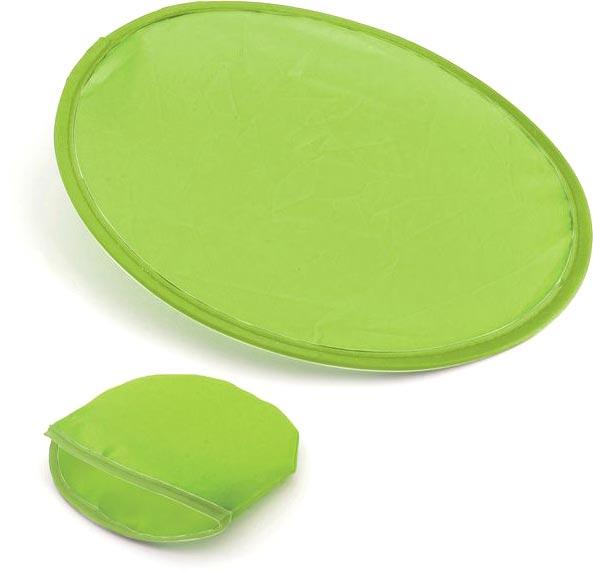 Skládací frisbee světle zelené