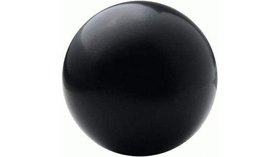 Černý antistresový míček