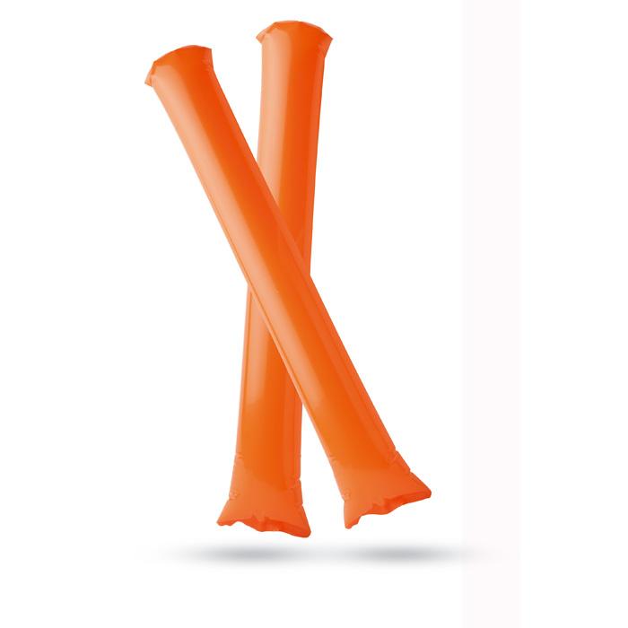Oranžové nafukovací tyče