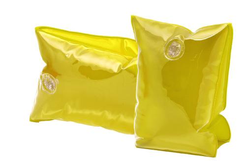 Sanvi žluté nafukovací rukávky