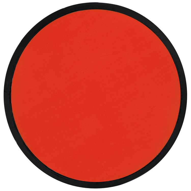 Skládací červené frisbee
