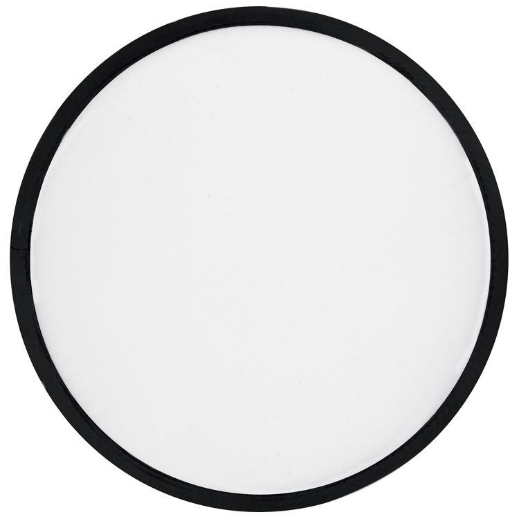 Skládací bílé frisbee