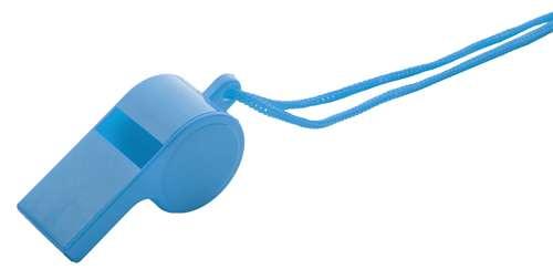 Claxo modrá píšťalka