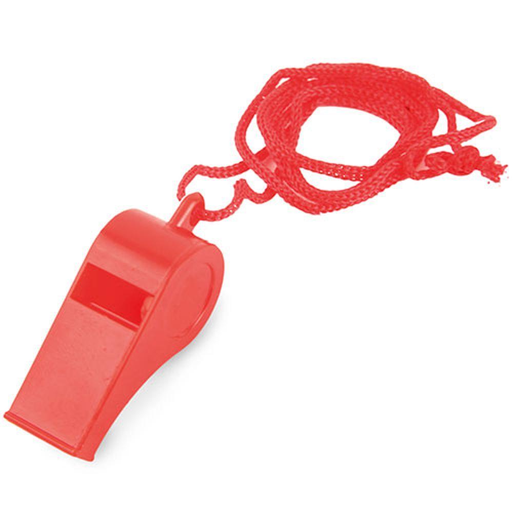 Píšťalka červená s potiskem