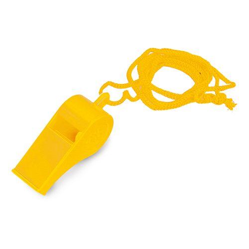 Píšťalka žlutá s potiskem